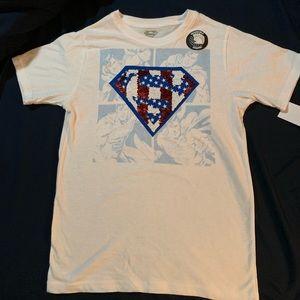 Kids Reversible sequined Superman, Sz 8/10